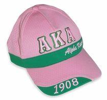 Alpha Kappa Alpha Mesh Cap