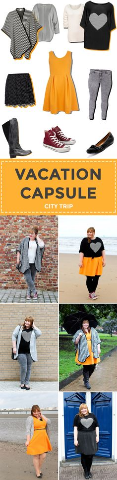 Plus Size Vacation Capsule City Trip Autumn/Fall // Packliste Städtetrip im Herbst