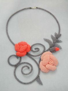 Roses Of The White Nights Necklace