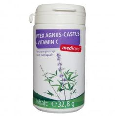 #vitex agnus-castus#capsules#food supplement#vitamins#application for menstrual discomfort#medicura#MEDICURA Naturprodukte AG