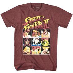 cf29017d Details about Street Fighter 2 Player Select Screen 8Bit Pixel Men's T Shirt  Gamer Ryu Capcom