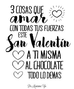 Tarjetas imprimibles freebie San Valentin @pamonisimayo