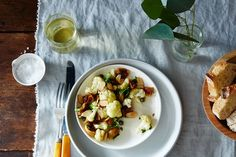 Spiced Cauliflower, Pickled Fig, and Almond Salad recipe on Food52