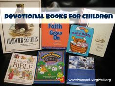 A Long List of Devotional Books for Children - a great resource