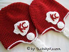 Ravelry: Football Helmet Crochet Pattern pattern by Breanna at {the baby keeper}