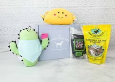 what a fun festive cute subscription box for dogs! Dog Lady, Dog Birthday, Cool Toys, Dapper, Allergies, Boxer, Coupons, Subscription Boxes, Pets
