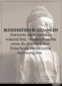 Buddhist thoughts - Buddhist thoughts # quote quotes Informations About Buddhistische Gedanken Pin You can easily use my - Daily Positive Affirmations, Dalai Lama, True Words, Yoga, Quotations, Life Quotes, About Me Blog, Told You So, Motto