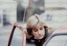 November 6, 1980 - Diana is photographed as she heads out to the shops, shopping for Charles' birthday present.