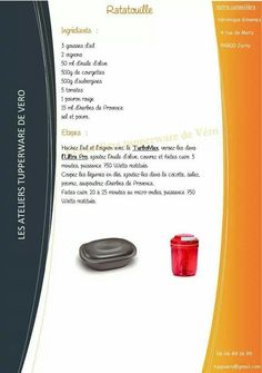 http://www.idecz.com/category/Tupperware/ Tupperware - Ratatouille