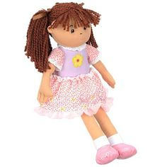 You & Me 18 inch Doll - Lizzy by Toys R Us. $39.95. One look, and you and your little girl will fall in love with the You & Me 18-inch Lizzy Doll.  This updated version of the classic rag doll is soft, plush and so adorable, with rag mop pigtails tied up with bows, and a pretty pink and purple dress. Cuddling is unavoidable.   The You & Me 18 inch Doll - Lizzy features:  Includes one doll An updated version of the classic rag doll is waiting to become some lit...