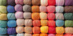 Tricot: 10 online butikker for at købe uld Tunisian Crochet Patterns, Crochet Granny, Crochet Yarn, Knitting Patterns, Knitting Tutorials, Lace Patterns, Stitch Patterns, Loom Knitting, Hand Knitting