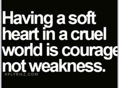 My soft heart