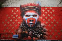 Dale Grimshaw – new mural – London, UK