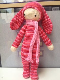 RITA the rabbit made by Lilian W. / crochet pattern by lalylala
