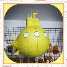 Pinhata Submarino Amarelo
