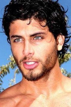 black hair with blue eyes Beautiful Men Faces, Most Beautiful Man, Gorgeous Men, Pretty Men, Face Men, Male Face, Brazilian Men, Male Eyes, Interesting Faces