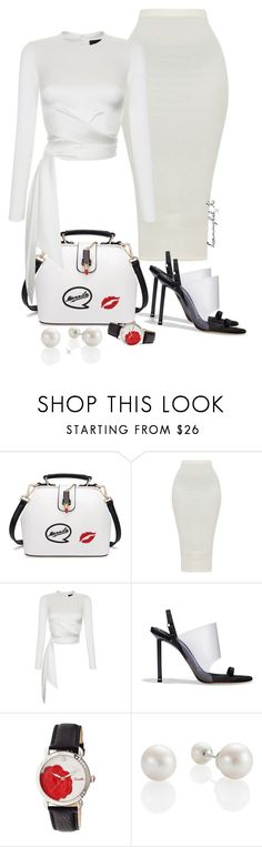 """""""#19"""" by stylewithlammybel-1 ❤ liked on Polyvore featuring Rasario, Alexander Wang and Bertha"""