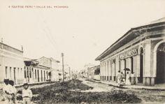 Calle del Próspero. Iquitos [fotografía]