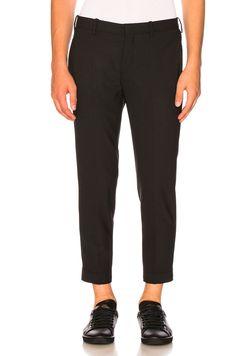NEIL BARRETT Zip Hem Skinny Pants. #neilbarrett #cloth #