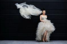 Amazing real life bridal shot at this elegant wedding in Xi'an China, photos by Chris+Lynn Photography   junebugweddings.com