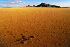 Circulo en el desierto Namibia Kalahari