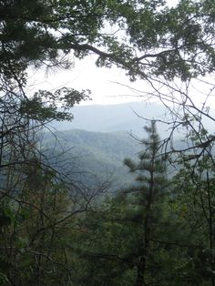 Hiking view Smoky Mountains, TN