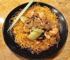 Hong Kong style pan fried noodles is a favorite of mine. Love ordering this at restaurants. Even bad versions are tolerable, well, most of the time. My mom used to say that this dish is very easy t…