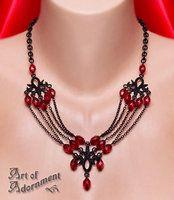 Lucrezia Cascade Necklace by ArtOfAdornment