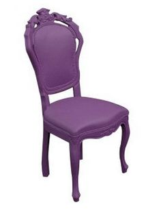 Old purple chair