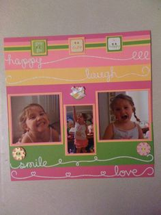 Happy smile page
