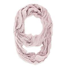 Light Pink Genevieve Infinity Scarf