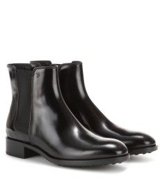 Tod's - Leather Chelsea boots - mytheresa.com GmbH