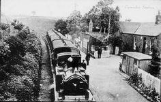 Canonbie Railway Station c1900