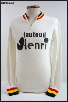9789d81a2 FAUTEUIL HENRI. Molteni Cycling · Vintage Wool Cycling Jerseys