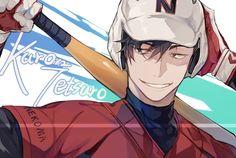 Image about cute in Haikyuu🔥💥 by Fujo~ on We Heart It Kuroo Haikyuu, Kuroo Tetsurou Hot, Haikyuu Fanart, Haikyuu Ships, Haikyuu Anime, Hinata, Baseball Anime, Kurotsuki, Volleyball Anime