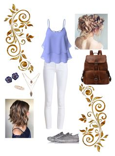 """""""Modern Princess (Rapunzel)"""" by fashsionqueen on Polyvore featuring Barbour, Doublju, Luna Skye, Converse and modern"""