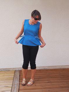Sur un fil...... Bermuda Shorts, How To Make, Inspiration, Dresses, Women, Fashion, Sons, Sewing, Biblical Inspiration