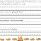 Enjoy this 10 page bundle!  Pages 1,2 - Edit sentences accordingly Page 3- Trace capital letters at beginning of sentence, circling ending punctuat...