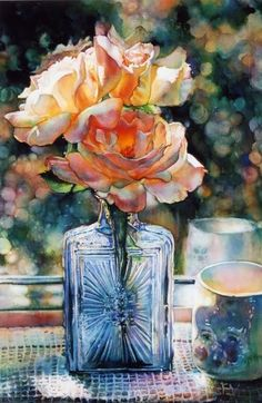 Artodyssey: Jeannie Vodden    WATERCOLOR