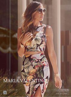 MARIA.VALENTINA - Coleção Primavera Verão 2013/2014 - Moda Feminina Sofisticada, Moderna e Elegante, Vestidos, Blusas, Jeans, Bolsas, Cintos...