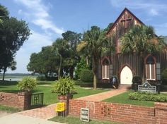 Church of the Cross Bluffton Check out the free docent tours and learn about its role in the Civil War.  Just a short drive across the bridge from Hilton Head.