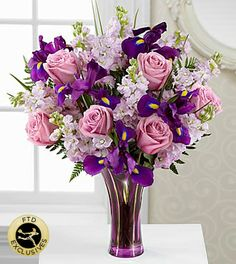 The FTD® Casual Elegance™ Bouquet - VASE INCLUDED