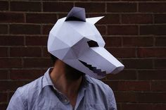 Still Need A Halloween Costume? Print These Gorgeous Geometric Masks For An Instant Outfit   The Huffington Post