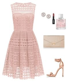 """Brunch anyone?"" by allieofficial on Polyvore featuring River Island, Accessorize, Dana Rebecca Designs and Jimmy Choo"
