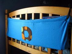 Love this idea to make bunk bed book holders!
