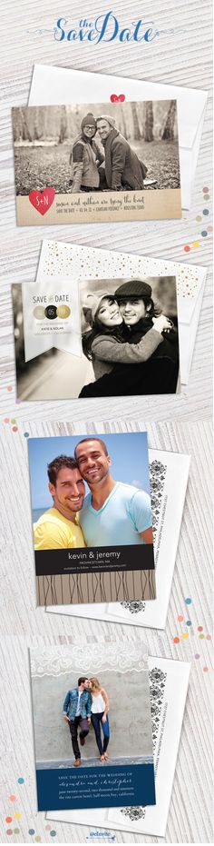 A Save the Date is the perfect way to spread the word about your engagement and create excitement for your upcoming nuptials. Customize yours at eInvite.com and enjoy 15% off with code: SAVETD15.