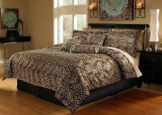 Leopard Print in the Bedroom? Yes, Please!: Leopard Bedding