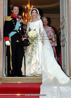 Mary Donaldson & Crown Prince Frederik of Denmark May 14, 2004