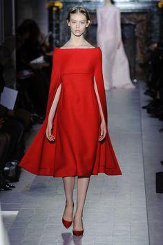Red dress Valentino