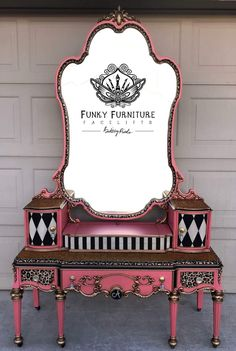 Brittany Pistole - Funky Funriture Facelifts - Snow White Approved 20 section of information related to. Whimsical Painted Furniture, Hand Painted Furniture, Funky Furniture, Refurbished Furniture, Paint Furniture, Repurposed Furniture, Unique Furniture, Shabby Chic Furniture, Vintage Furniture